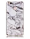 Para huawei p9 lite p8 lite tpu material imd processo padrao de marmore modelo soft shell y6ii y5ii 4c