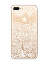 Pour Coque iPhone 7 Coque iPhone 6 Coque iPhone 5 Ultrafine Transparente Motif Coque Coque Arriere Coque Jeux Avec Logo Apple Flexible PUT