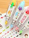 Creative Push Type Lace Correction Tape