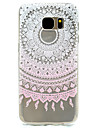 Pink Print Pattern TPU High Purity Translucent Openwork Soft Phone Case for Samsung Galaxy S7 Edge S7 S5 S5MINI