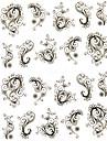 1 sheet Fashion Flower Nail Stickers
