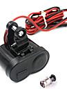 мотоцикл водонепроницаемый GPS 1.5a USB зарядное устройство порт прикуривателя