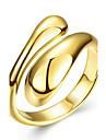 Кольца Свадьба / Для вечеринок / Повседневные Бижутерия Медь / Серебрянное покрытие / Позолота / Позолоченное розовым золотом Женский