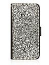 Для Кейс для  Samsung Galaxy Бумажник для карт / со стендом / Флип Кейс для Чехол Кейс для Сияние и блеск Искусственная кожа SamsungJ5 /
