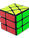 Yongjun® Mjuk hastighetskub 3*3*3 Hastighet Magiska kuber Utbildningsleksak Svart Blekna Ivory slät klistermärke /Anti-pop justerbar