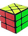 Yongjun® Ομαλή Cube Ταχύτητα 3*3*3 Ταχύτητα Μαγικοί κύβοι Εκπαιδευτικό παιχνίδι μαύρο fade Ivory ομαλή αυτοκόλλητο /Anti-pop ρυθμιζόμενο