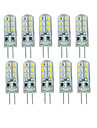 10 Pcs A Fil Others G4 24 led Sme3014 DC12 v 350 lm Warm White Cold White Double Pin Waterproof Lamp Other