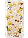 Для Кейс для iPhone 6 Кейс для iPhone 6 Plus Кейс для iPhone 5 Чехлы панели Защита от удара С узором Задняя крышка Кейс дляМультяшная