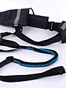 Collar Leash Adjustable/Retractable Soft Safety Running Patchwork Fabric Nylon