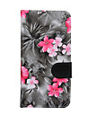 For Samsung Galaxy S7 S6 edge plus Case Cover Flowers PU Leather Mobile Phone Holster for S6 edge S6