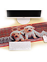 Professional Custom Computer Game  Lovely Dogs Gaming Mouse Pad Used For  Deskop And Laptop Computer 30x80x0.2cm