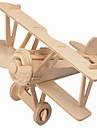 직소 퍼즐 나무 퍼즐 빌딩 블록 DIY 장난감 비행기 / 집 1 나무 크리스탈 모델 & 조립 장난감