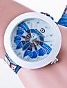 Женские Модные часы Повседневные часы / Кварцевый Материал Группа Повседневная Черный Белый Синий Зеленый Розовый Желтый