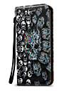 Pour samsung galaxy j1 j3 case cover 3d skull hard pu cuir pour j3 j5 j7