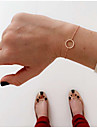 Chain Bracelet Alloy Fashion / Bohemia Style Daily / Casual Jewelry Gift Gold / Silver 1pc