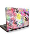 "Case for Macbook 13"" Macbook Air 11""/13"" Macbook Pro 13""/15"" MacBook Pro 13""/15"" with Retina display Oil Painting Plastic Material Scrawl Face"