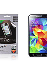 High Transparency Matte LCD Screen Protector with Cleaning Cloth for Samsung Galaxy S5 (3 Pieces)