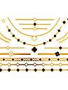 #(1) Tatouages Autocollants Series bijoux MotifHomme Femelle Adulte Adolescent Tatouage Temporaire Tatouages temporaires
