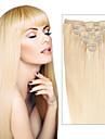 Extensions de cheveux humains Cheveux humains 100-110 14 Extension des cheveux