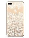 Для Защита от удара Рельефный С узором Кейс для Задняя крышка Кейс для дерево Мягкий TPU для AppleiPhone 7 Plus iPhone 7 iPhone 6s Plus/6