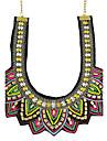 Женский Ожерелья с подвесками Сплав Бижутерия Базовый дизайн Мода Оранжевый Зеленый Бижутерия Повседневные 1шт