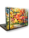 "Case for Macbook 13"" Macbook Air 11""/13"" Macbook Pro 13""/15"" MacBook Pro 13""/15"" with Retina display Oil Painting Plastic Material Maple Leaves"