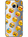 For Samsung Galaxy S6 Edge Plus S6 S7 Edge S7 Cartoon face Soft Material For Compatibility TPU