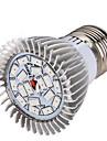 8W E14 GU10 E26/E27 LED лампа для теплиц 18 SMD 5730 635-735 lm Красный Синий V 1 шт.