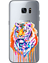 For Samsung Galaxy S6 Edge Plus S6 S7 Edge S7 Tiger Soft Material For Compatibility TPU