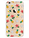 For Apple iPhone 7 7Plus 6S 6Plus Case Cover Pineapple Pattern HD TPU Phone Shell Material Phone Case