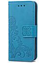 karzea patterntpu trevo e estojo de couro pu com suporte para iPod touch5 / 6 novo toque
