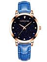 Женские Модные часы Кварцевый / Имитация Алмазный сплав Группа Повседневная Элегантные часы Черный Синий Красный Розовый Фиолетовый