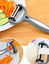 1Pcs  Multifunctional 360 Degree Rotary Carrot Potato Peeler Melon Gadget Vegetable Fruit Turnip Slicer Cutter Kitchen  Random  Color