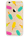 Pour Ultrafine Motif Coque Coque Arriere Coque Dessin Anime Flexible PUT pour AppleiPhone 7 Plus iPhone 7 iPhone 6s Plus/6 Plus iPhone