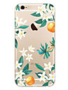 For iPhone 7 Case iPhone 7 Plus Case iPhone 6 Case Case Cover Ultra-thin Pattern Back Cover Case Flower Soft TPU for Apple iPhone 7 Plus