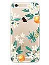 Para Capinha iPhone 7 Capinha iPhone 7 Plus Capinha iPhone 6 Case Tampa Ultra-Fina Estampada Capa Traseira Capinha Flor Macia PUT para
