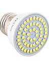 5W E26/E27 Точечное LED освещение MR16 54 SMD 2835 400-500 lm Тёплый белый Холодный белый Декоративная V 1 шт.