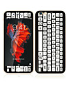 6s apple iphone plus / 6 plus 5,5 verre trempe avec protecteur bord doux de l\'ecran avant de la couverture complete de l\'ecran et le