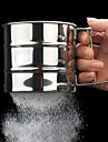 A Sifter Cup Semi Automatic Mixing Flour Sifter Sieve Thickening Powder Baking Tools