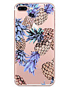 Para Estampada Capinha Capa Traseira Capinha Fruta Macia TPU para Apple iPhone 7 Plus iPhone 7 iPhone 6s Plus/6 Plus iPhone 6s/6