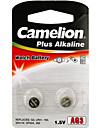 camelion ag3 Muenze Knopfzelle Alkali-Batterie 1,2 V 2 Stueck