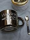 Оригинальные Стаканы, 400 ml BPA Free Китайский фарфор Текстиль Телесный Молоко Кофейные чашки Чашки для путешествий