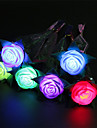 3PCS Luminous Spring Roses Toys Apple Flower Toys Valentine\'s Propose Supplies Toys Party Holiday Gifts Decorations Toys