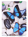 For Card Holder Wallet with Stand Flip Pattern Case Full Body Case Butterfly Hard PU Leather for iPad (2017) Pro10.5 Pro9.7 iPad Air Air2 iPad234
