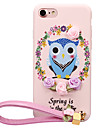Pour Motif A Faire Soi-Meme Coque Coque Arriere Coque Chouette Flexible PUT pour AppleiPhone 7 Plus iPhone 7 iPhone 6s Plus iPhone 6 Plus