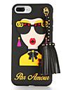 Для С узором Своими руками Кейс для Задняя крышка Кейс для Соблазнительная девушка Мягкий TPU для AppleiPhone 7 Plus iPhone 7 iPhone 6s