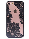 de volta Congelado / Other Lace Impressao PC Duro Retro Pattern+Relief Case Capa Para AppleiPhone 6s Plus/6 Plus / iPhone 6s/6 / iPhone