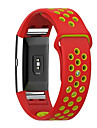 For Fitbit Charge 2 Soft Silicone Replacement Sport Band Strap Band