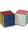 Shengshou® Smooth Speed Cube 5*5*5 7*7*7 Magic Cube Rainbow Scrub Sticker Feng ABS