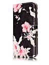 For Huawei P10 Lite P10 PU Leather Material Azalea Pattern Painted Phone Case P8 Lite (2017) P9 Lite P8 Lite